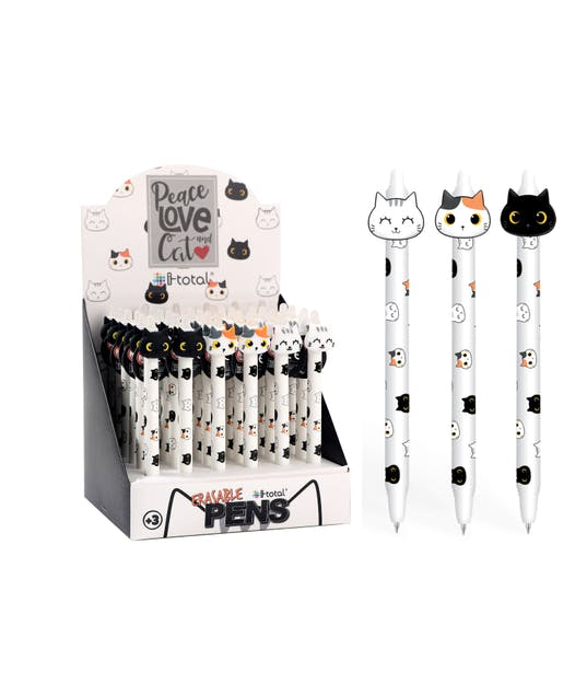 I-TOTAL - ΣΤΥΛΟ FRIXION i-TOTAL XL1892 CATS ERASABLE PEN