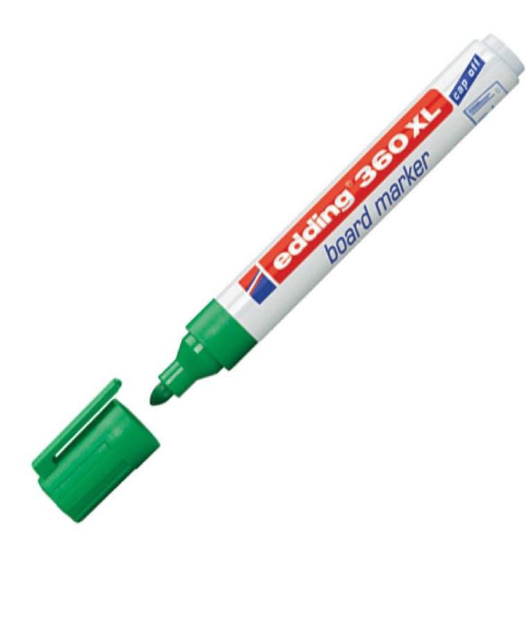 Μαρκαδόρος πίνακος -Ασπροπίνακα Edding 360XL/004 1.5-3 mm Πράσινο Στρογγυλή Μύτη Επαναγεμιζόμενος Refillable
