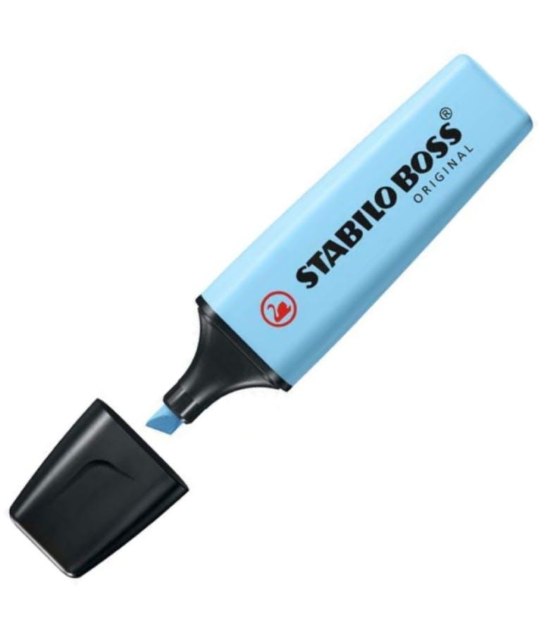 Μαρκαδόρος υπογραμμίσεως Boss 70/112 Pastel Breezy Blue Γαλάζιο