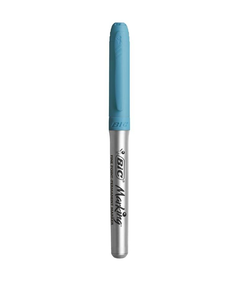 Bic Μαρκαδόρος Ανεξίτηλος Γαλάζιο Hot Aqua Fine Byfo (950468)