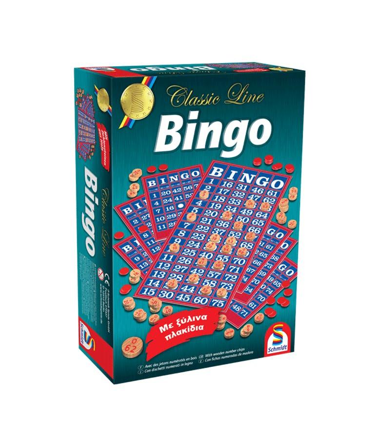 Επιτραπέζιο Οικογενειακό Παιχνίδι BINGO  SCHMIDT 49089 300007