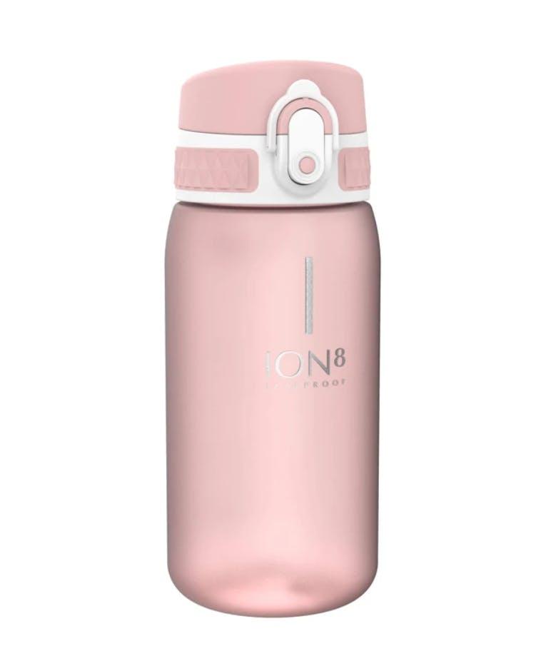 Ion8 Leak Proof Kids Water Bottle Pod PINK Παιδικό Παγούρι ΡΟΖ 400ml I8350BROS
