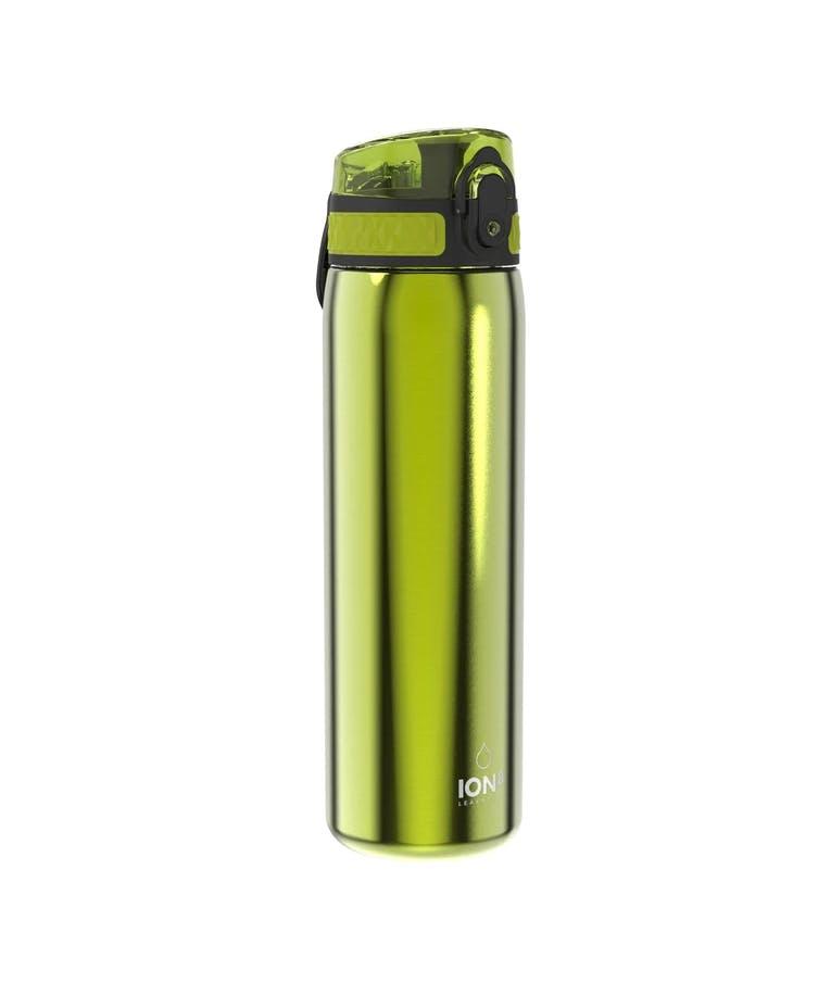 Ion 8 Leak Proof Insulate Steel Water Bottle Μπουκάλι ισοθερμικό Ανοξείδωτο Ατσάλι Slim Green Πράσινο 600ml I8500MGRE