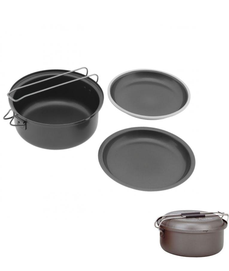 Αluminum Ατομικό Σετ Μαγειρέματος Laken Cooking Set + Cutlery 14cm 333999