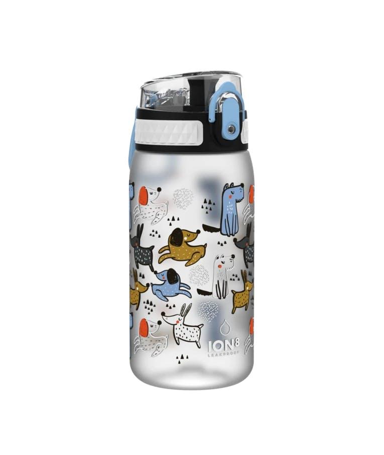 Ion8 Leak Proof Kids Water Bottle Pod DOGS Παιδικό Παγούρι Σκυλάκια 400ml I8350FPIDOGS