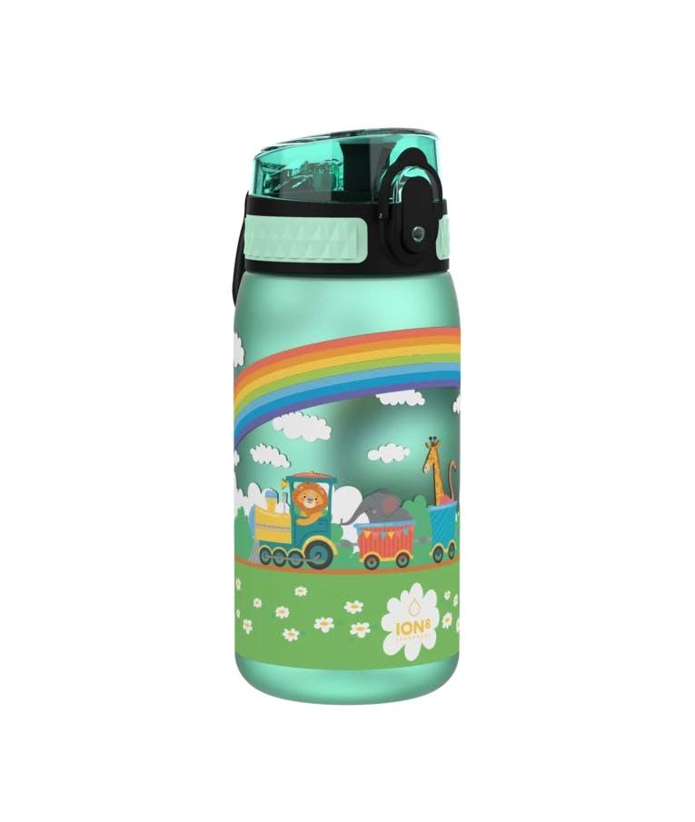 Ion8 Leak Proof Kids Water Bottle Pod TRAIN Παιδικό Παγούρι ΤΡΕΝΟ Γαλάζιο 400ml I8350FPMTRAIN