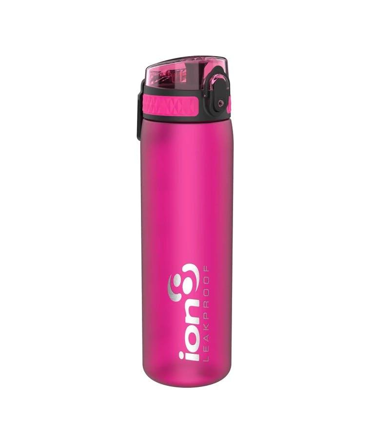 Ion 8 Leak Proof Sports Bottle Παγούρι Slim Pink Ροζ 600ml I8500FPIN