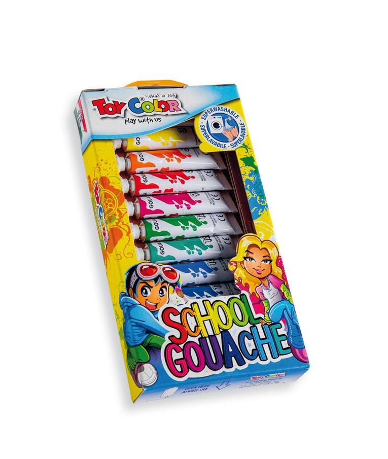 Τέμπερα Toy Color Ellipse Σωληνάρια τέμπερες 7.5ml| σετ 12 χρωμάτων  (220.641N) 0641