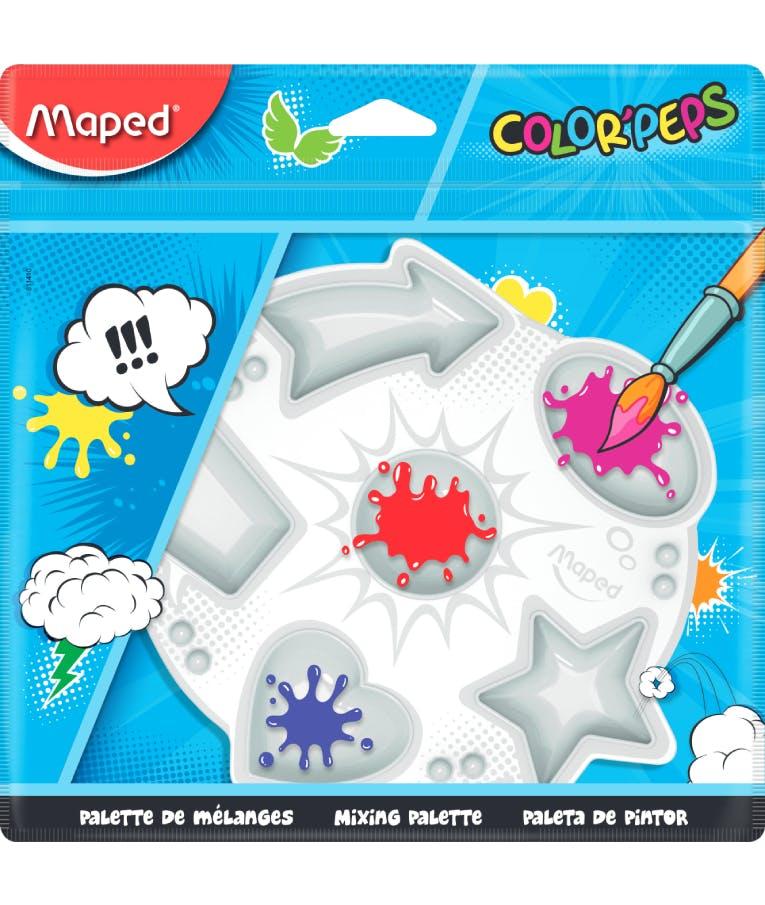 Maped Παλέτα Ζωγραφικής Πλαστική 6 θέσεων 811410