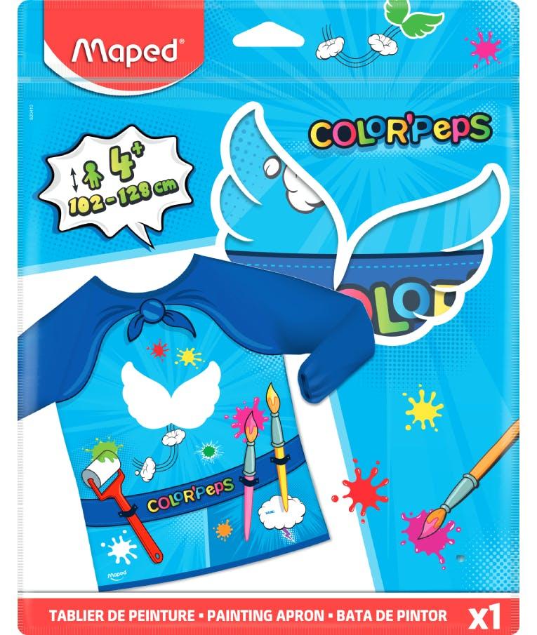 Ποδιά Ζωγραφικής με Μανίκια Maped Color Peps Super Heroes 820410
