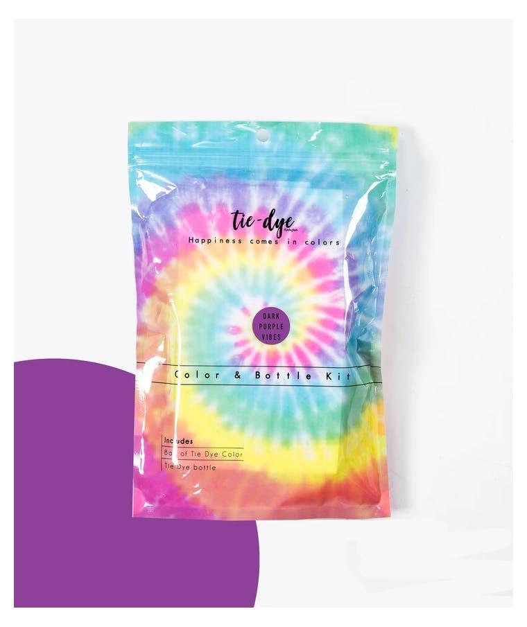Tie - Dye Kit Χρωματισμού PURPLE 4,6g bag color + bottle 120 ml 300-30051
