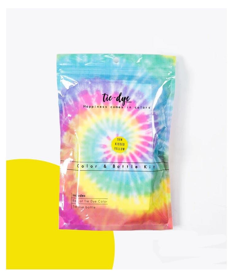 Tie - Dye Kit Χρωματισμού SUN KISSED YELLOW 4,6g bag color + bottle 120 ml 300-30048