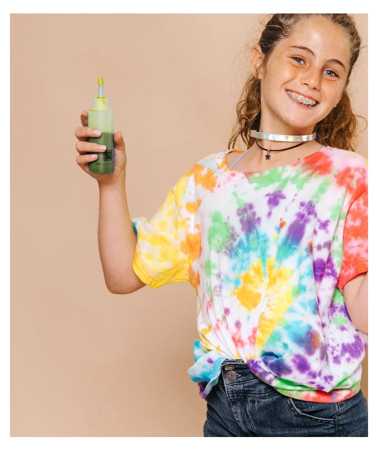 FUNKY FISH - Tie - Dye Kit Χρωματισμού SUN KISSED YELLOW 4,6g bag color + bottle 120 ml 300-30048