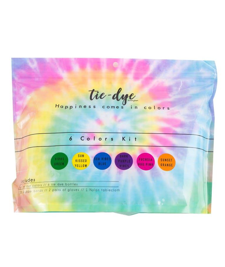 6 Tie - Dye Kit Χρωματισμού B6 Tie Dye Colors 120 ml 300-30056