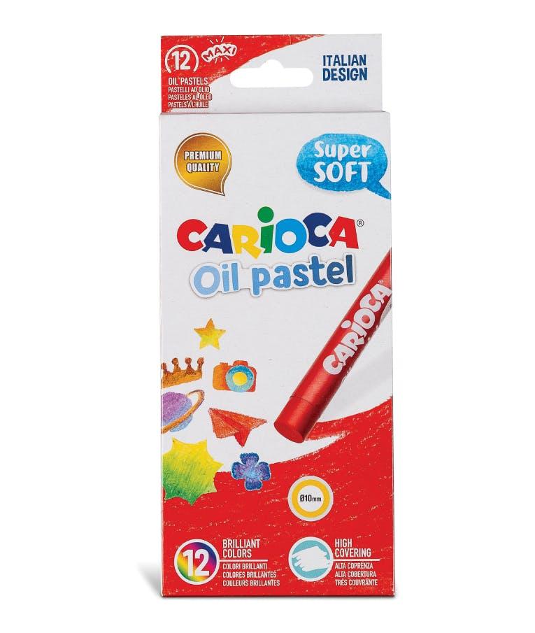 Carioca Λαδοπαστέλ Oil Pastels 12 Χρωμάτων 43277
