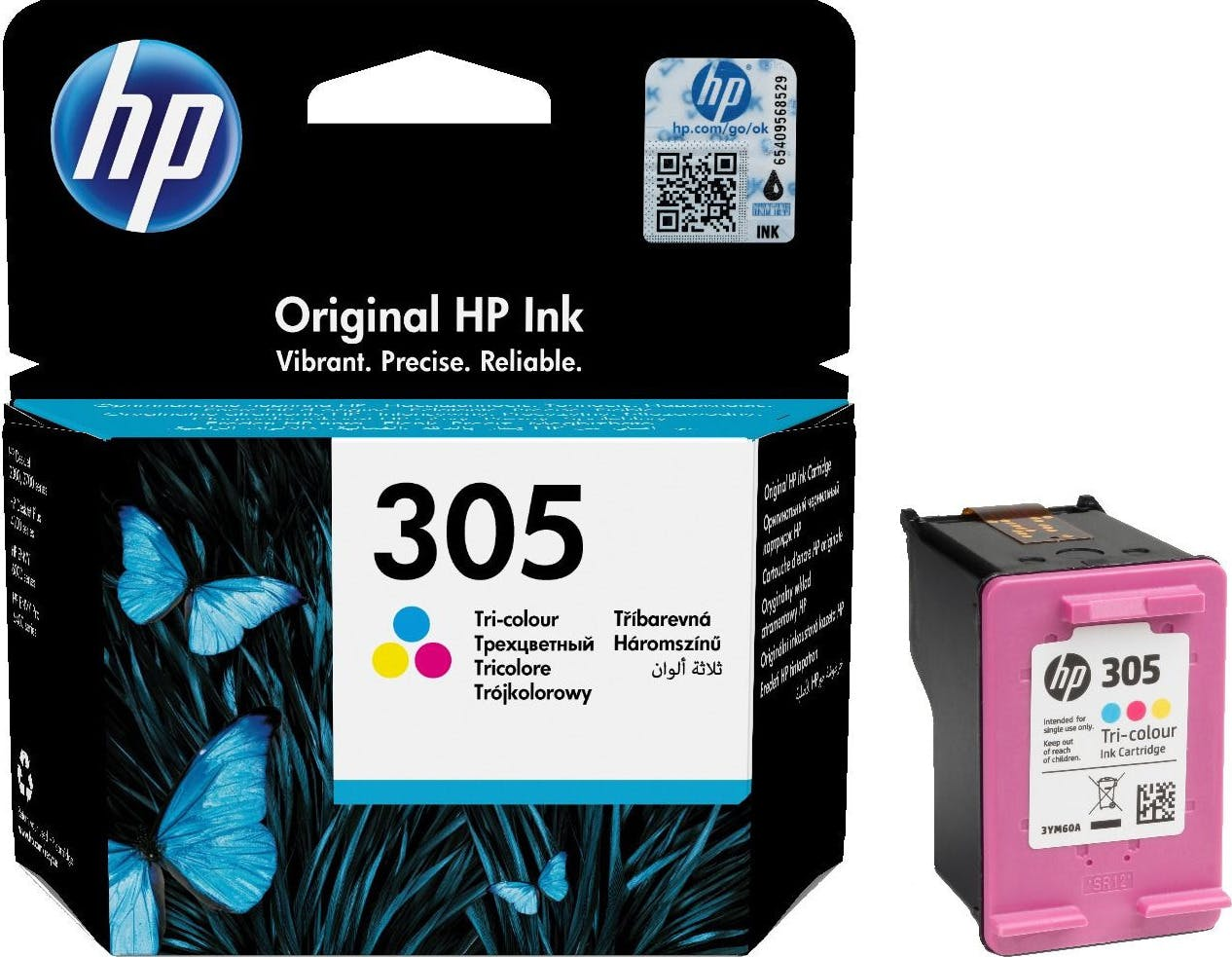 3YM60AE ink cartridge 3-colors No. 305 (3YM60AE ABE)