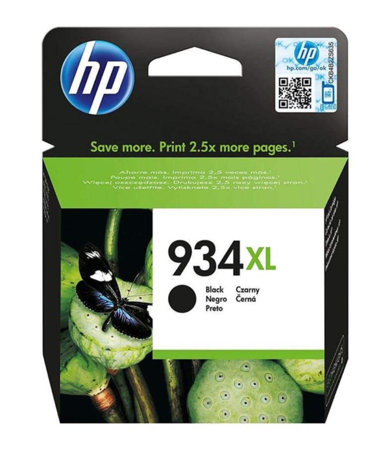 ΜΕΛΑΝΙ  934XL BLACK      (C2P23AE BGY) HP
